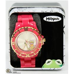 MUPPETS KERMIT THE FROG LADIES WATCH