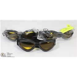 3 SETS OF SPORTS GOGGLES