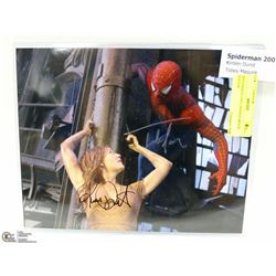 SPIDERMAN (2001) SIGNED MOVIE POSTER