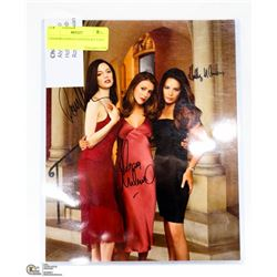 CHARMED PHOTO SIGNED BY CAST