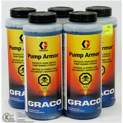 LOT OF 5 GRACO PUMP ARMORS, PROTECTS YOUR AIRLESS
