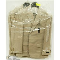 2 NEW BELLISSIMO SUIT JACKETS SIZE 44R
