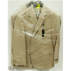 2 NEW BELLISSIMO SUIT JACKETS SIZE 46R
