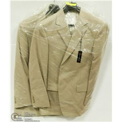 2 NEW BELLISSIMO SUIT JACKETS SIZE 42R