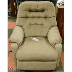 NEW BEIGE COLOUR ROCKER RECLINER