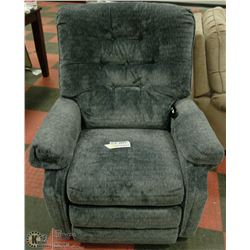 NEW SLATE COLOUR POWER LIFT RECLINER