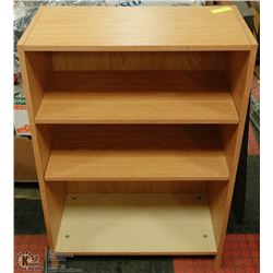 "BOOKCASE WITH 3 SHELVES 36""H X 24""W"