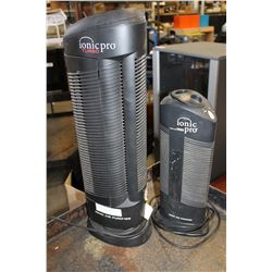 TWO IONIC PRO AIR PURIFIERS