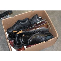 BOX OF DRESS SHOES