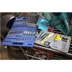LOT OF DRILL BITS