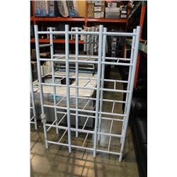 WHITE BIN WAREHOUSE SHELF