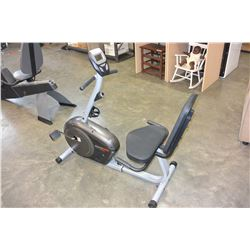 HEALTH RIDER H20X EXERCISE BIKE