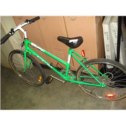 GREEN CCM BIKE