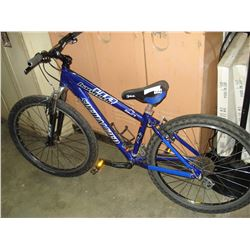 BLUE SPECIALIZED HARDROCK BIKE
