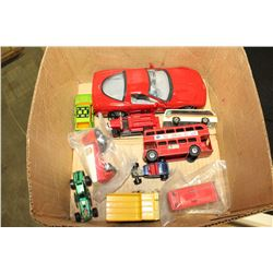 VINTAGE AND DIE CAST TOY CARS