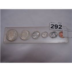 1965 CANADIAN SILVER COIN SET
