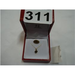 14KT YELLOW GOLD BABY NECKLACE RETAIL $300.00