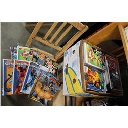 LARGE BOX OF MARVEL AND OTHER COMICS