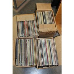 FOUR BOXES OF RECORDS