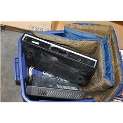 TOTE 2 DIGITAL CABLE BOXES AND AIR MATTRESS