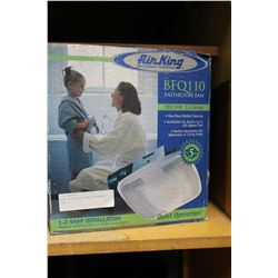 NEW IN BOX AIR KING BATHROOM FAN