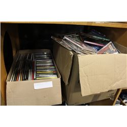 TWO BOXES OF CDS