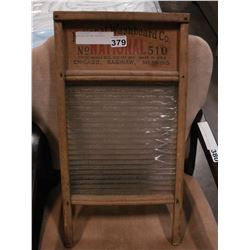 ANTIQUE NATIONAL WASHBOARD