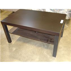 ESPRESSO FINISH SMALL COFFEE TABLE