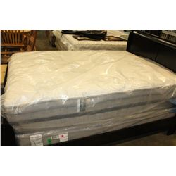 NEW CUSTOM EXTRA LONG DOUBLE SIZE BEAUTY REST HARMONY BELLINI COMFORT TOP MATTRESS AND BOXSPRING RET