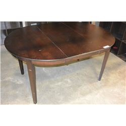 NEW MODERN ROUND DINING TABLE WITH LEAF