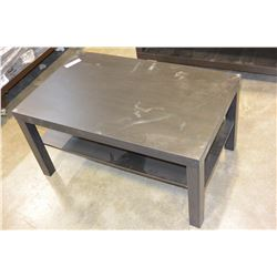 ESPRESSO FINISH COFFEE TABLE