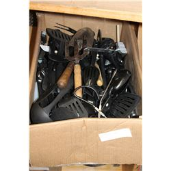 LARGE BOX OF CUTLERY