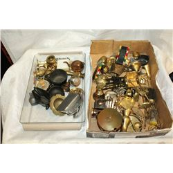 TWO TRAYS OF MINIATURE COLLECTIBLES