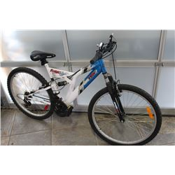 BLUE WHITE SPORTEK BIKE