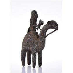 Rare Antique African Tribal Dogon Cast Bronze