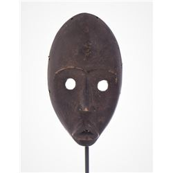 African Dan Wood Mask Liberia. Estimated more