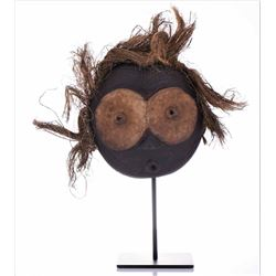 African Gitenga Wood Mask, Congo. Estimated