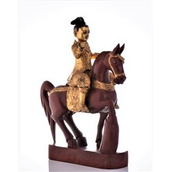 Antique Warrior On Horseback, Wonderfully