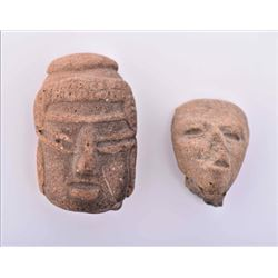 Two Pre-Columbian Fragments.