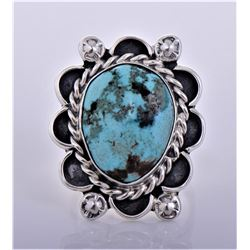 Native American Sterling Silver Southwest Blue