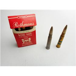 ASSORTED LOT OF MILITARY ERA .303 AMMO DATED1939-1940  WITH BROAD ARROW MARKS