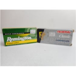 ASSORTED 35 REMINGTON AMMO