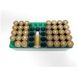 .44 CF RUSSIAN RELOAD AMMO IN  PLASTIC CASE