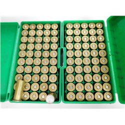 .44 S & W SPL RELOAD AMMO IN PLASTIC CASES