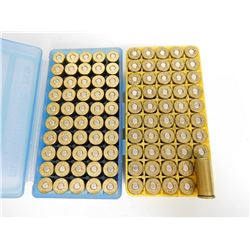 .44 S & W & W.W.SPL RELOAD AMMO IN PLASTIC CASES