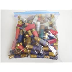 ASSORTED LOT OF 12 GAUGE SHOTGUN SHELLS VARIOUS SHOT SIZES