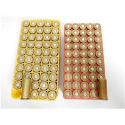 ASSORTED LOT OF .44 SPL AND .44 REM MAG RELOAD AMMO  IN PLASTIC CASES