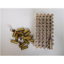 .38 SPL RELOAD AMMO INCLUDING WAD CUTTERS