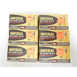 IMPERIAL 22 LONG RIFLE HIGH VELOCITY AMMO