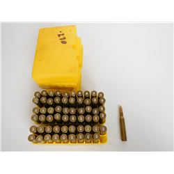 ASSORTED LOT OF .270 RELOAD AMMOI IN PLASTIC CASES